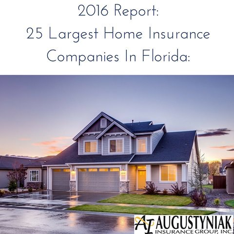 Homeowners Insurance Companies In Florida Lists 25 Largest