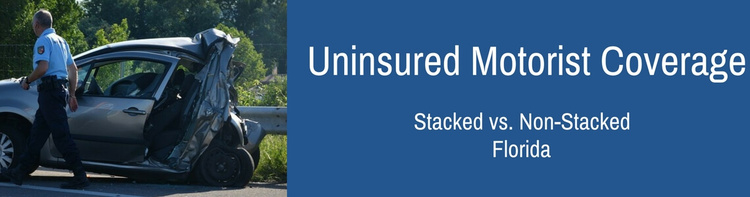 Compare Stacked vs Non-Stacked UM in Florida